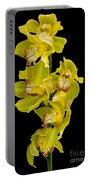 Cymbidium - Boat Orchid Portable Battery Charger