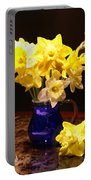 Daffodil Bouquet Portable Battery Charger