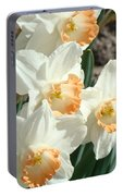 Daffodil Flowers Art Prints Spring Floral Portable Battery Charger