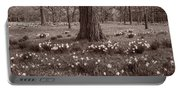 Daffodil Glade Number 2 Bw Portable Battery Charger