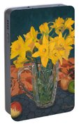 Daffodil Medley Portable Battery Charger