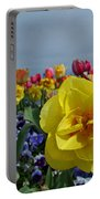 Daffodil Up Front Portable Battery Charger