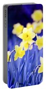 Daffodils Flowers Portable Battery Charger