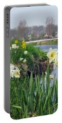 Daffodils In Holland 01 Portable Battery Charger