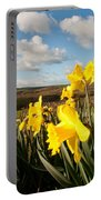 Daffs On Dartmoor Portable Battery Charger