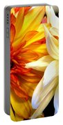 Dahlia Days Portable Battery Charger
