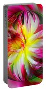 Dahlia Flower Energy Portable Battery Charger