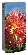 Dahlia Named Misty Explosion Portable Battery Charger