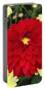 Dahlias And Daisys Portable Battery Charger