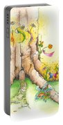 Daisy Mae Fairy Illustration Portable Battery Charger
