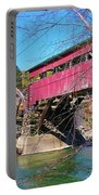 Damaged Covered Bridge Portable Battery Charger