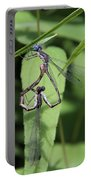 Damselfly Love Portable Battery Charger