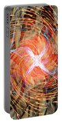 Dance Of Fires  Portable Battery Charger by Jerry Cordeiro