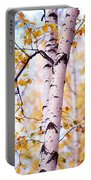 Dancing Birches Portable Battery Charger