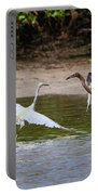 Dancing Egrets Portable Battery Charger