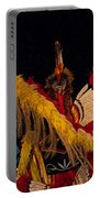Dancing Feathers Portable Battery Charger
