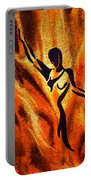 Dancing Fire Vii Portable Battery Charger
