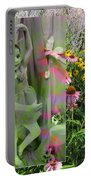 Dancing Girl In Flowers Portable Battery Charger