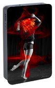 Dancing With My Hair On Fire Portable Battery Charger