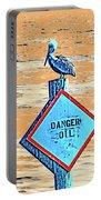 Danger Oil Portable Battery Charger