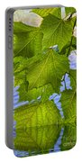Dangling Leaves Portable Battery Charger by Deborah Benoit