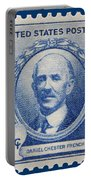 Daniel Chester French Postage Stamp Portable Battery Charger