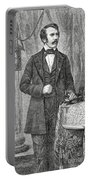 David Livingston, Scottish Missionary Portable Battery Charger by Science Source
