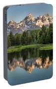 Dawn At Schwabacher Landing Portable Battery Charger