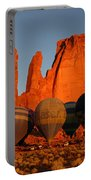 Dawn Flight In Monument Valley Portable Battery Charger