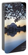 Dawn Over Jefferson Memorial Portable Battery Charger