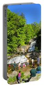 Day At Kent Falls State Park Portable Battery Charger