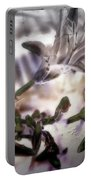 Day Lilies - Abstract Portable Battery Charger