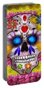 Day Of The Dead - Death Mask Portable Battery Charger