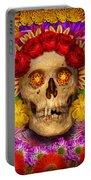 Day Of The Dead - Dia De Los Muertos Portable Battery Charger