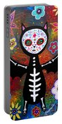 Day Of The Dead Bat Portable Battery Charger