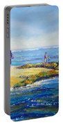 Day Out At Coloundra Beach Queensland2 Portable Battery Charger