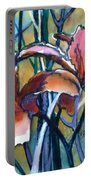 Daylily Stix Portable Battery Charger by Kathy Braud