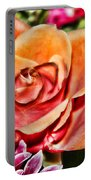 Dazzling Rose Portable Battery Charger
