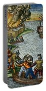 De Bry: Chicora, 1590 Portable Battery Charger