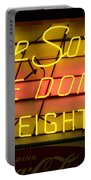 De Soto Fire Dome V Eight Neon Sign Portable Battery Charger