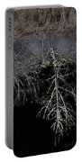 Dead Tree Reflects In Black Water Portable Battery Charger