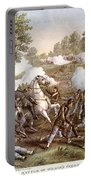 Death Of N. Lyon, 1861 Portable Battery Charger