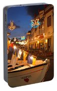Decorated Fishing Boats Portable Battery Charger