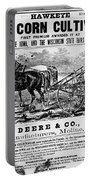 Deere Plow, C1866 Portable Battery Charger