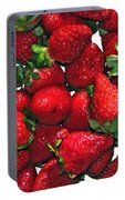 Deliciously Sweet Strawberries Portable Battery Charger