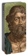 Demosthenes, Ancient Greek Orator Portable Battery Charger by Photo Researchers