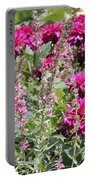 Demure Dahlias Portable Battery Charger