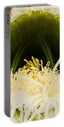 Depths Of The Cactus Flower Portable Battery Charger