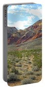 Desert Fire Stone Portable Battery Charger
