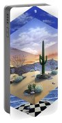 Desert On My Mind 2 Portable Battery Charger